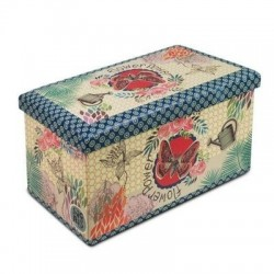 Baul Plegable Flowers 76x42 cm