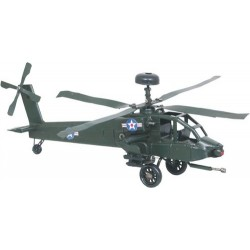 Figura Helicóptero Militar verde