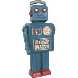 Figura Robot Retro Azul