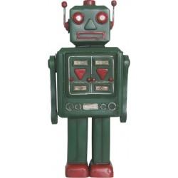 Figura Robot Retro Verde