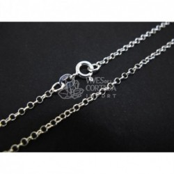 Cadena de plata bauleta peque?a 60cm (C53)