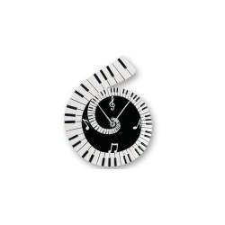 Reloj de Pared Musica Piano 26 cm