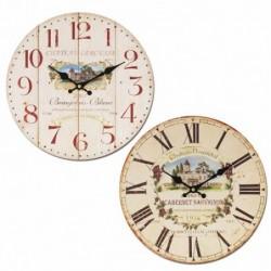 Reloj Pared Vino Surtido (1 unidad) 34 cm