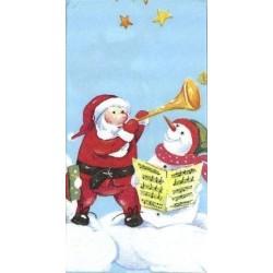 Paquete Pa?uelos Peque?os 21 cm Santas Workshop