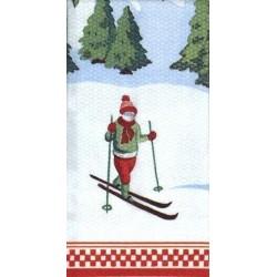 Paquete Pa?uelos Peque?os 21 cm Ski Lodge