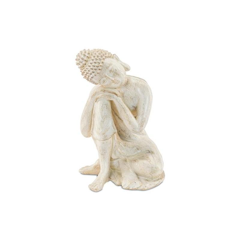 Figura Buda Resina 18 cm