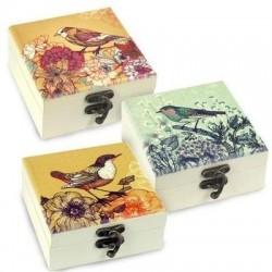 Caja x3 Modelos Pajaros 11 cm