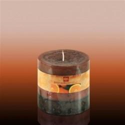 Vela Cirio 9 cm Orange
