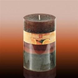 Vela Cirio 14 cm Orange