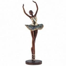 Figura Bailarina Resina Ballet 42 cm