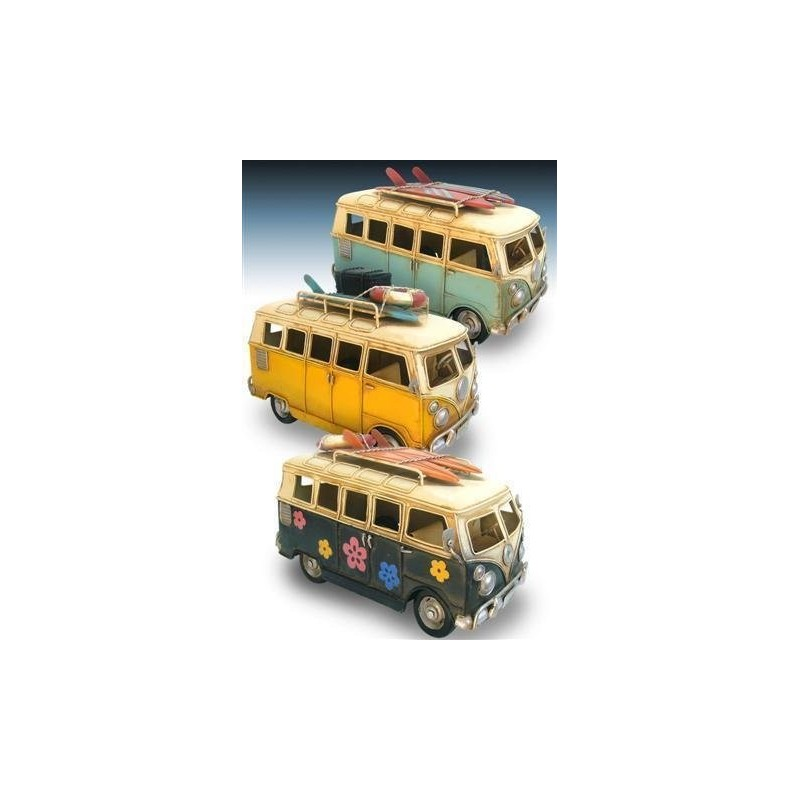 Figura Decorativa Autobus (1 unidad) 25 cm