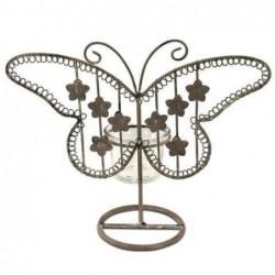 Candelabro T-Lite Mariposa 23 cm