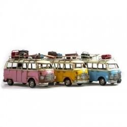 Figura Metal Autobus Retro Surtida (1 unidad) 28 cm