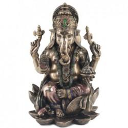 Figura Resina Ganesha 18 cm