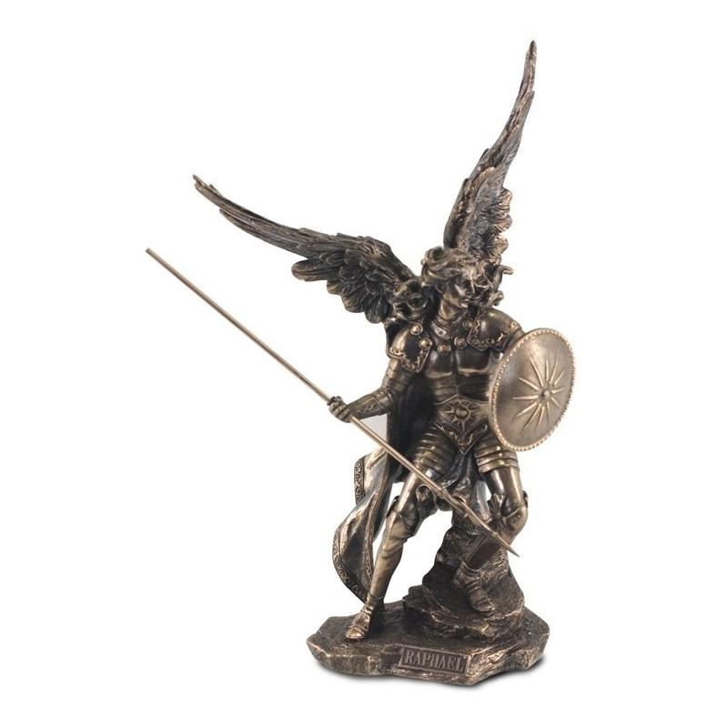 Figura Resina Arcangel Raphael 37 cm