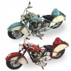 Figura x2 Motos Retro 29 cm