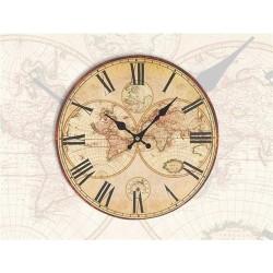 Reloj De Pared 34 cm MUNDO