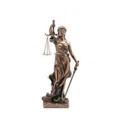 Figura Clasica Diosa De La Justicia Resina 20 cm