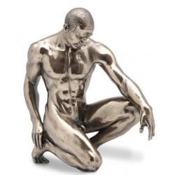 Figura Hombre Desnudo Resina 15 cm