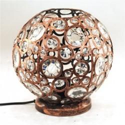 Lampara de Sobremensa Bola Cobre 24 cm