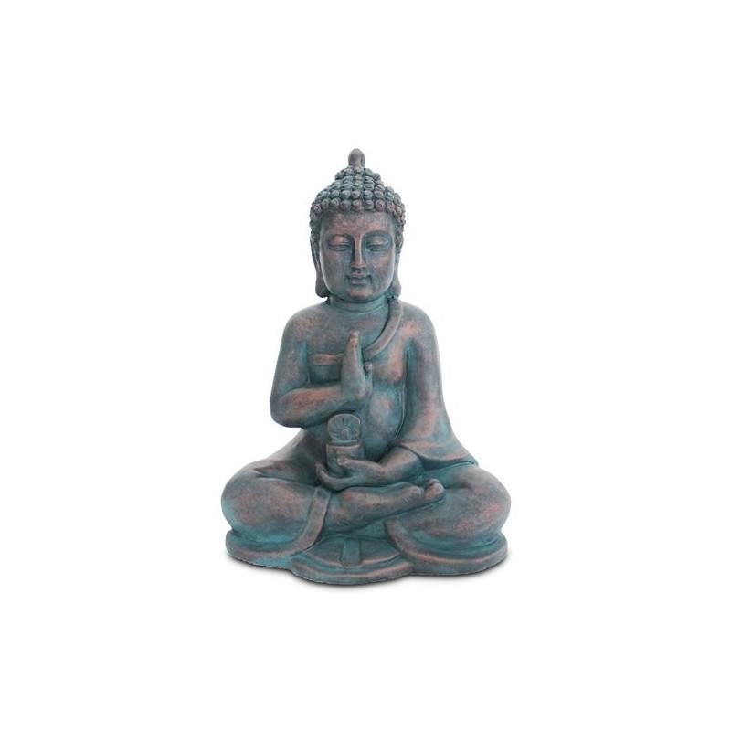 Figura Buda Sentado Resina 40 cm