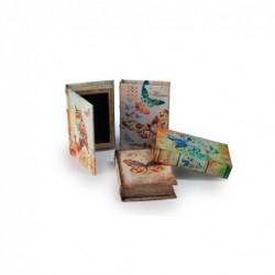Caja Libro x8 Modelos 13x9 cm