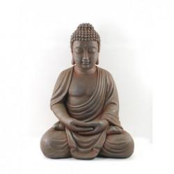 Figura Resina Buda Sentado 48 cm