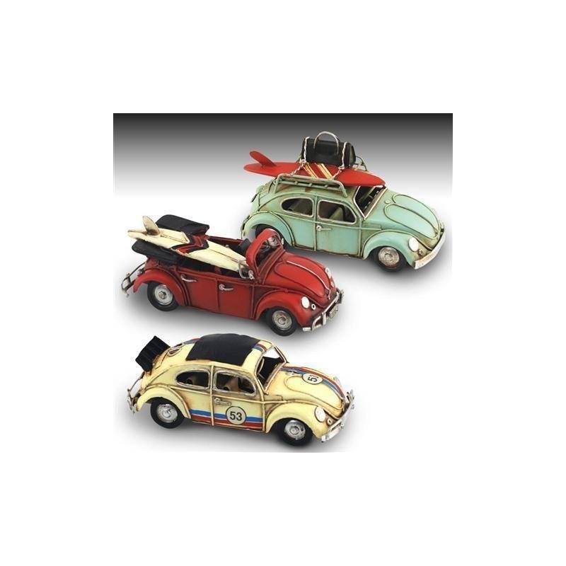 Figura Metal Coche Colores Surtidos (1 unidad) 15 cm