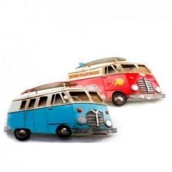 Adorno Pared x2 Autobus 31x19 cm
