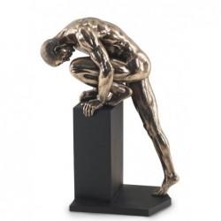 Figura Resina HOMBRE DESNUDO 34 cm