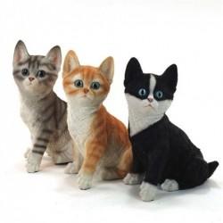 Figura x3 Gatos 20 cm