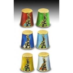 Dedales Sevillanas x6 Colores  2 cm
