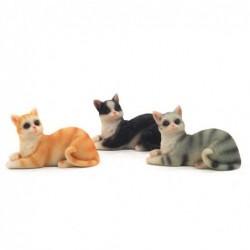 Figura x3 Gatos 7 cm