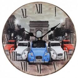 Reloj De Pared Coche 4CV 34 cm