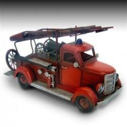 Figura Metalica Camion Bomberos Surtido (1 unidad) 24 cm