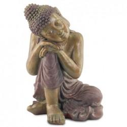 Figura Metal Budha Durmiendo 48 cm