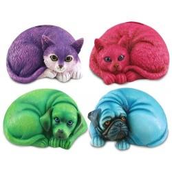 Hucha Animales Colores Surtida (1 unidad) 16x12 cm