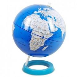 Globo Terraqueo Azul 32 cm PVC