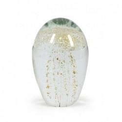 Pisapapeles Cristal Medusa 375 gr. 9 cm