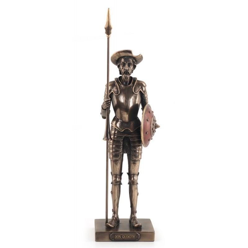 Figura Resina Don Quijote Armadura 29 cm