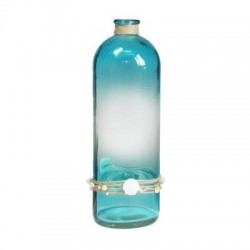 Botella Decorativa Azul 41 cm