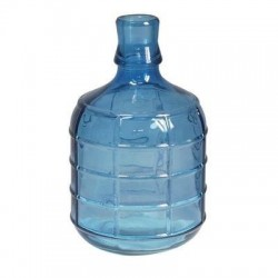 Botella Decorativa Azul 26 cm