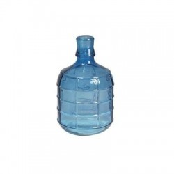 Botella Decorativa Azul 18 cm