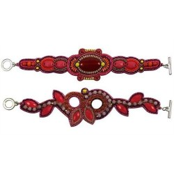 Pulsera Roja Talla Unica Surtida (1 unidad) 20 cm