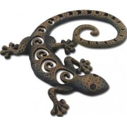 Figura Lagarto Metalica 22 cm