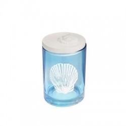 Candelabro Azul con Tapa 10 cm