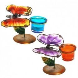 T-Lite Mariposas Colores Surtidos (1 unidad) 15 cm