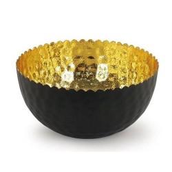 Portavelas  T-Lite Dorado 16 cm