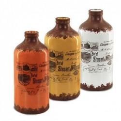 Jarron Ceramica Botella Surtidos (1 unidad) 20 cm