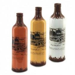 Jarron Ceramica Botella Surtidos (1 unidad) 14 cm